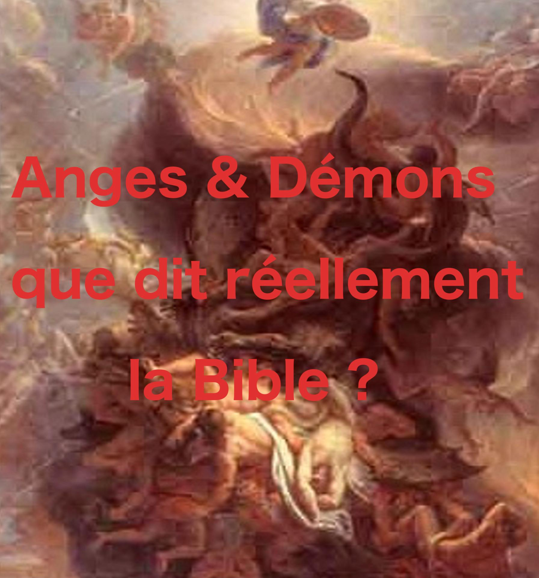 demons de la bible